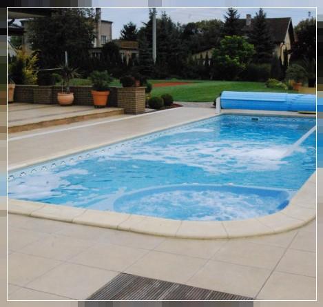 Hersteller pools schwimmbeckenhersteller privatpool die - Whirlpool mit uberlaufrinne ...